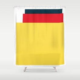 Mid Century Modern Vintage 25 Shower Curtain