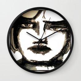 Portrait 142 Wall Clock
