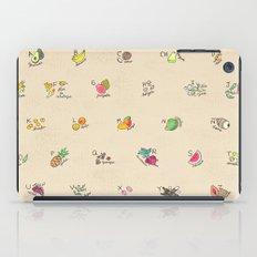 Las Frutas y Verduras de Latinoamerica iPad Case