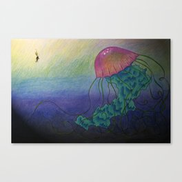 One Big Discovery Canvas Print