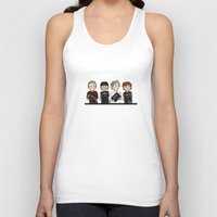 bugs Tank Tops featuring 5 bugs by beel