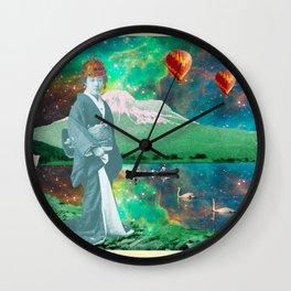THE QUEEN OF MT. FUJI II Wall Clock