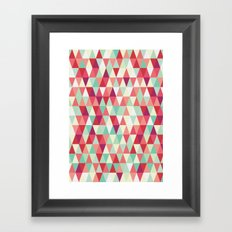 Lava Lamp Framed Art Print