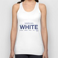 samsung Tank Tops featuring Samsung White League of Legends by Thomas Official
