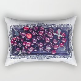 Winter Cherry Rectangular Pillow