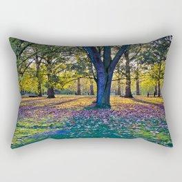 London's Autumn Rectangular Pillow