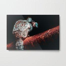 Mischievous Marmoset II Photograph Metal Print