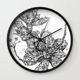 Garden of Danger Wall Clock