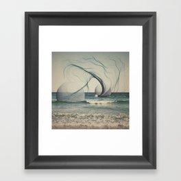 family of three Framed Art Print
