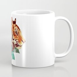 Monstera Tiger Coffee Mug