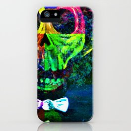 Ghost In The Mirror iPhone Case