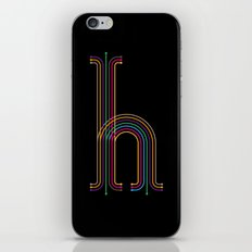 H like H iPhone & iPod Skin