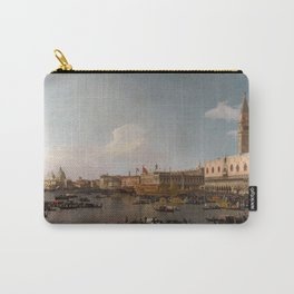 The Basin of San Marco on Ascension Day by Canaletto Carry-All Pouch