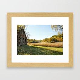Painted Farm Framed Art Print