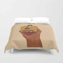 Yellow Brownie Duvet Cover