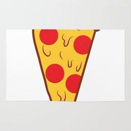 Pizza fan Rug