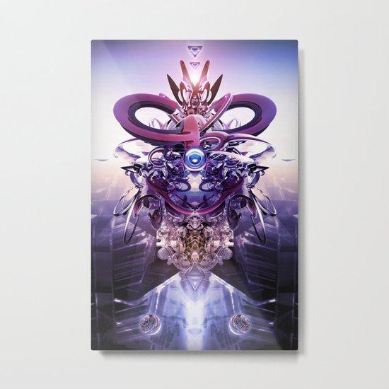 Overseer Metal Print