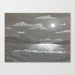 Quiet Night Canvas Print