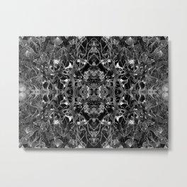Emerald tree geometry VI Metal Print