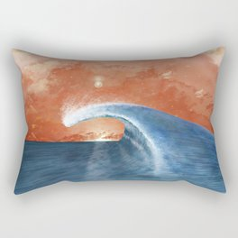 Wave&Sky Rectangular Pillow