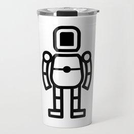 Small Robot Icon Travel Mug