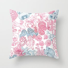 Mycology 2 Throw Pillow