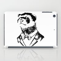 ferret iPad Cases featuring Fancy Ferret by JK Designs