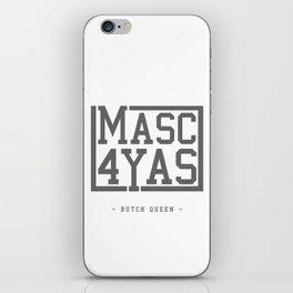 BQ - Masc4Yas iPhone Skin