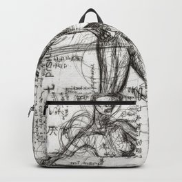 Clone Death - Intaglio / Printmaking Backpack