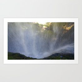 Backside of Water Art Print