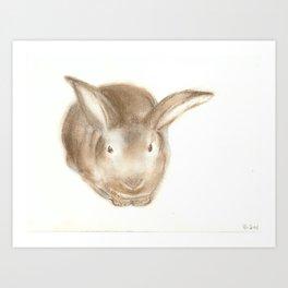 Christopher Rabbit Art Print
