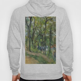 """Paul Cezanne """"The Orchard. La côte Saint-Denis à Pontoise"""" Hoody"""