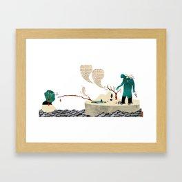 Gabriela Mistral 4 era prosa Framed Art Print