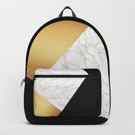 GOLDEN MARBLE TRIANGLE Backpack