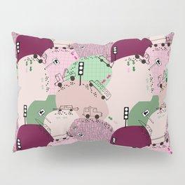 Four wheels purple #homedecor Pillow Sham