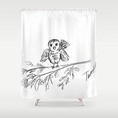 A Bird :: The Original Tweet Shower Curtain