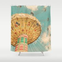 glee Shower Curtains featuring Glee by Suzanne Harford