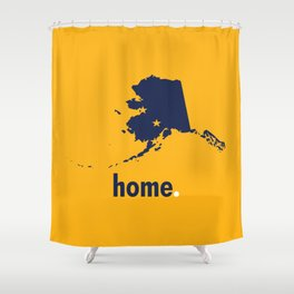 Alaska Proud Shower Curtain