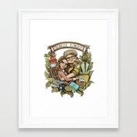 moonrise kingdom Framed Art Prints featuring Moonrise Kingdom by Sandy Vazan