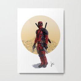 Chimichanga! Metal Print