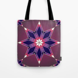 Morning Star Circle (Purple) Tote Bag