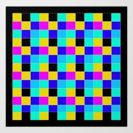 cubo rubik Art Print