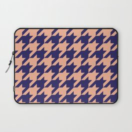 Houndstooth (Blue and Beige) Laptop Sleeve