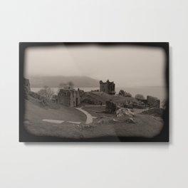 Urquhart Castle, Lock Ness, Scotland Metal Print