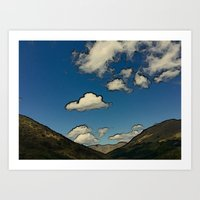 Hills Like Elephants Art Print