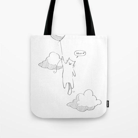 Balloon Cat Tote Bag
