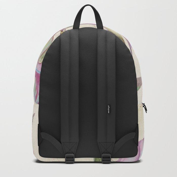 Macro flower #12 Backpack