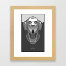 """Welcome to Nervana"" by Nitram Framed Art Print"