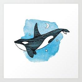 """Orca Dream"" Art Print"