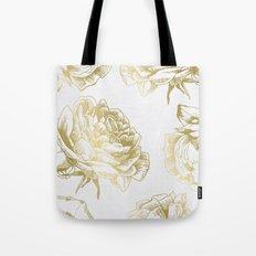 Roses Gold Tote Bag
